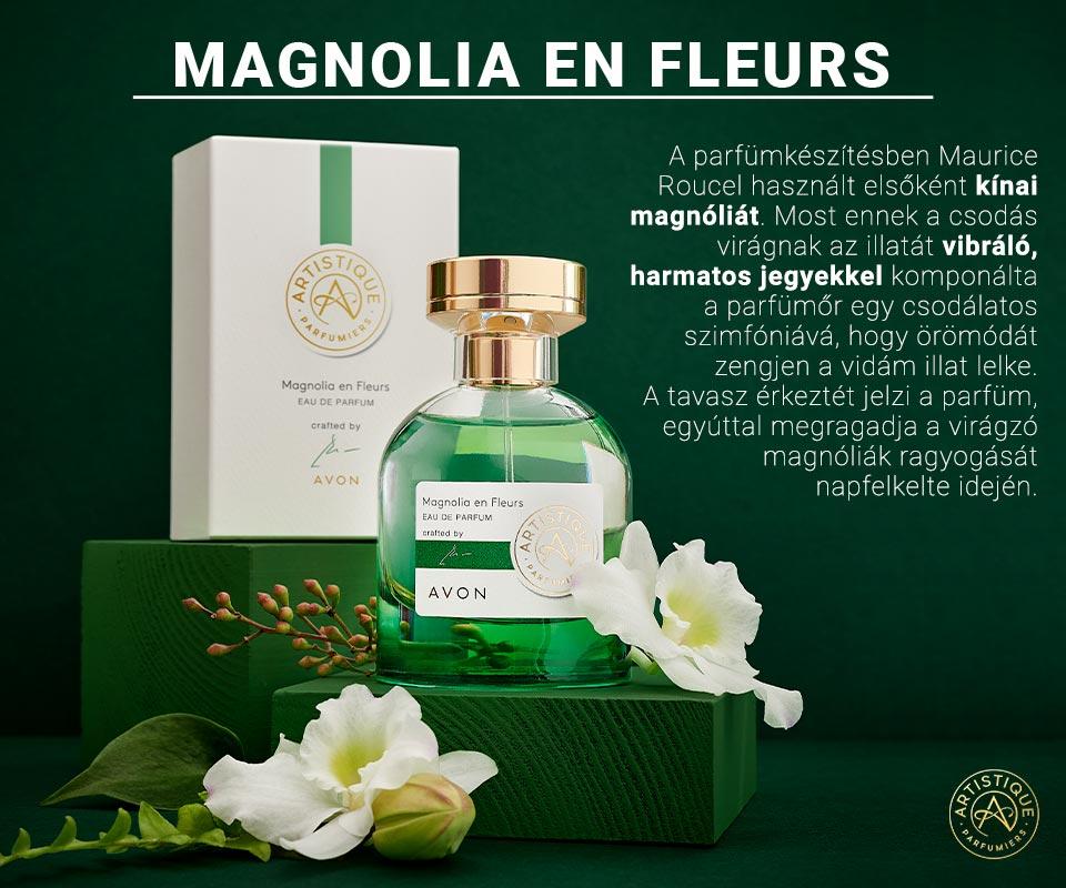 Artistique Magnolia en Fleurs parfüm